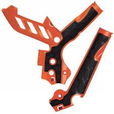 ACERBIS Rahmenschutz X-GRIP orange KTM SX SX-F SXF 2011-2015 EXC EXC-F 2012-2016