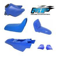 Yamaha PW50 PY50 Plastics Fairing Panel Blue With Saddle Fuel Tank Mud Guard