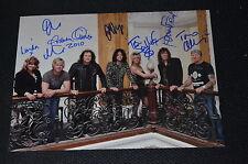 T-rex signed autographe en personne 20x28 cm paul Fenton, Graham Oliver, etc.