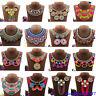 Ethnic Tribal Boho Tassel Choker Bohemian Statement Necklace Pendant Bib Jewelry