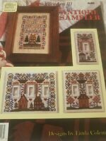 Jeremiah Junction Switch Stitchers III Switch Plate Antique Sampler Cross Stitch