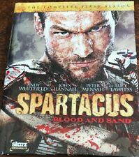 SPARTACUS Blood and Sand - The Complete First Season Blu-ray Disc 4 LN Disc Set