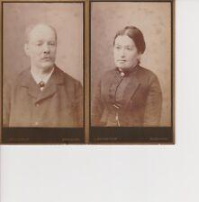 BURGDORF / Schweiz * Arnold u. Magda.HIRSBRUNNER GROSSMANN *ca. 1890 * orig. CDV