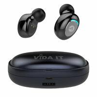 Senza Fili TWS Cuffia Auricolare Bluetooth 5.0 Earbuds Per Smartphone Cellulare