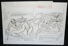 Spider-Man: Caught in the Web pgs.14 & 15 Scorpion & Hobgoblin by Steven Butler Comic Art