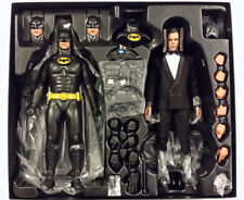 Tim Burton Batman And Bruce Wayne Michael Keaton Sixth Scale Figure Hot Toys