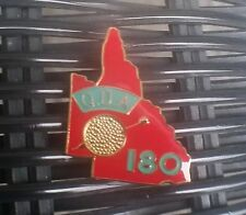 QDA QLD DARTS ASSOCIATION 180 LAPEL PIN - OLD MODEL COLLECTORS ONLY MINT IN BAG