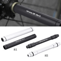 Road Bike Thru Axle Adapter 12/9mm Thru Axle to 15/12mm Thru Axle for 100mm Fork