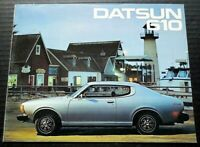 "ORIGINAL 1976 DATSUN 610 DEALER SALES BROCHURE ~ 12 PAGES ~ 8.5"" X 11"" ~ D676"