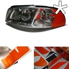 US - Design - Folie Audi A4 B5 Facelift, Blinker Scheinwerfer Style Folie orange