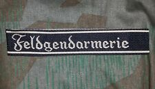 GERMAN ARMY CUFF TITLES - WW2 REPRODUCTION SEVERAL UNITS