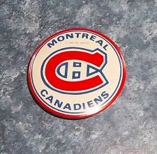 Montreal Canadians  Pin Back Button  1969 2 in. diameter