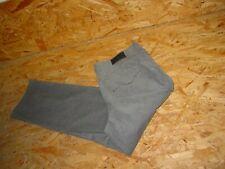 Cord- Stretchjeans/Jeans v.GERRY WEBER Gr.44/L30 grau Irina Strass