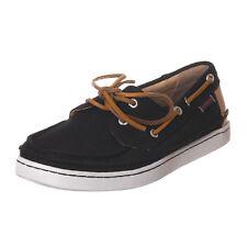 Sebago scarpe campionario sample shoes uomo man black nero EU 43 - 565 N37