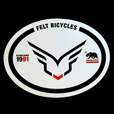 FELT Bicycles Sticker / Decal Cycling Road Mountain Track Bike CX Fixie Car Rack