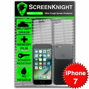 "ScreenKnight Apple iPhone 7 / 4.7"" FULL BODY SCREEN PROTECTOR Military Shield"