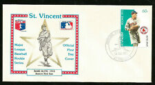 BABE RUTH BOSTON RED SOX ROOKIE 1915 MAJOR LEAGUE BASEBALL FIRST DAY COVER