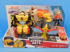 Playskool Heroes Transformers Bumblebee Rock Rescue Team Rescue Bots New!