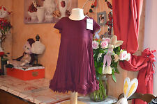 robe  repetto neuve  violet don juan 2 ans  50% laine sublime