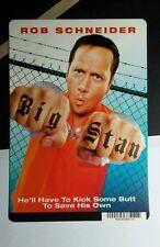 BIG STAN ROB SCHNEIDER FISTS MINI POSTER BACKER CARD (NOT A movie)