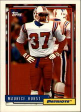 1992 Topps Football Base Singles #501-660 (Pick Your Cards)