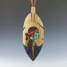NATIVE AMERICAN NAVAJO FOLK ART ORNAMENT BY RAY LANSING