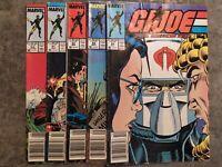 G.I. Joe A Real American Hero 5 book lot ~#60,61,62,63,64 Marvel Comics (1987)