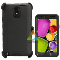 For Samsung Galaxy Note 3 Pro Case (Clip fits Otterbox Defender) Holster Cover