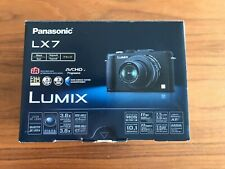 Panasonic LUMIX DMC-LX7 Digitalkamera - Schwarz, neuwertig in OVP