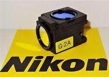 Nikon Green G 2a Fluorescent Microscope Filter Cube E400 600 Te200300