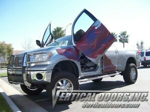 Vertical Doors - Vertical Lambo Door Kit For Toyota Tundra 2007-13 -VDCTOYTUN07