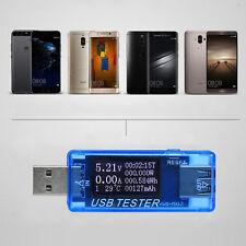 USB Tester Current Spannung Digital Dispay Power Bank Meter Voltmeter 4V-30V0-5A