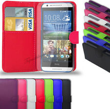 HTC Desire 820 - PU Leather Wallet Case Cover  &  Free Screen Protector