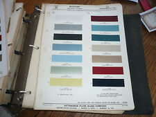 1964 Oldsmobile & F-85 Ditzler PPG Color Chip Paint Sample - Automotive Finishes
