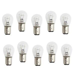 1157 12V 12V 21W 5W BAY15D Headlights Standard Replacement Halogen Globes X10