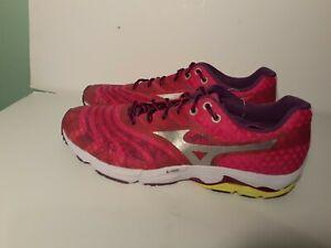 Mizuno Women's Us Size 11 Wave Sayonara Running Shoe  color pink