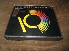 THE HITS ALBUM 10 USED 1989 TWO DISC UK CD INC KON KAN JOMANDA BANGLES & FUZZBOX