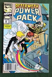 Power Pack #44 Marvel Comics Copper Age Inferno! vg