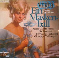 EIN MASKENBALL - MARIA CURTIS VERNA - VERDI -  LP - DUPLO-SOUND