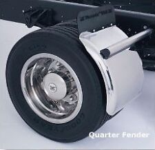 "Phoenix 21"" Low Deck Stainless Quarter-Fender,QF21, Wrecker, Tow Truck, Rollback"