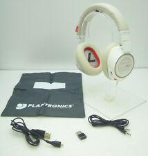 Plantronics Voyager 8200 UC Bluetooth Wireless Noise Canceling Headphones WHITE
