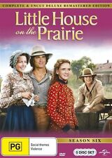 Little House On The Prairie : Season 6 (DVD, 5-Disc Set) BRAND NEW SEALED