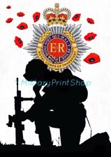 Royal Corps of Transport RCT, Poppy Print.