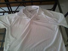 Polo da tennis per uomo Reebok a maniche corte- Taglia XL - bianca