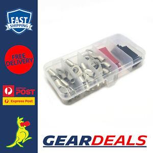 Cable Lug Kit 8 B&S / 8AWG Lugs 6mm, 8mm & 10mm Studs x 10 of Each Cable Lug