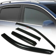 FOR 07-12 ACURA RDX TB1 SMOKE TINT WINDOW VISOR SHADE/VENT WIND/RAIN DEFLECTOR