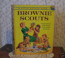 LITTLE GOLDEN BOOK BROWNIE SCOUTS  first edition A 1961