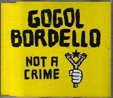 Gogol Bordello-Not a Crime cd maxi single
