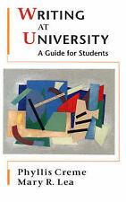 Writing at University: A Guide for Students, Lea, Mary R., Creme, Phyllis,