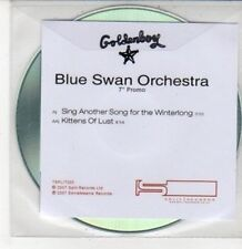 (DG368) Blue Swan Orchestra, Sing Another Song for the Winterlong - 2007 DJ CD